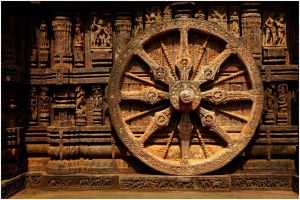 '2'_Dharma_Wheel,_The_Wheel_of_Life_at_Sun_Temple_Konark,_Orissa_India_February_2014