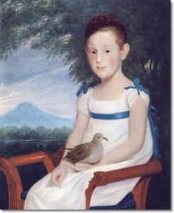 cephas-thompson-girl-with-dove-1810-30-x-24-approximate-original-size-in-inches
